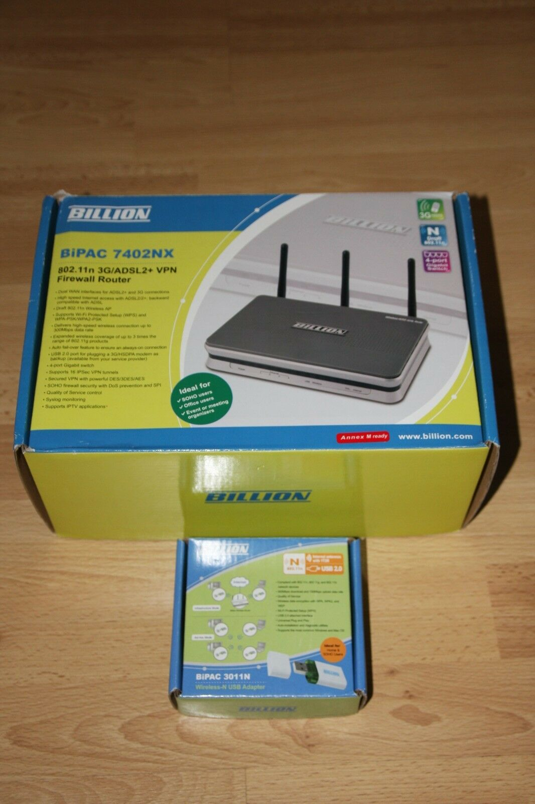 NEW DRIVERS: BILLION USB 3011N WIRELESS-N