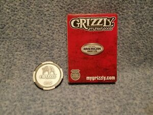 Details about Grizzly Tobacco Promotional Deck Of Playing Cards and Poker  Chip