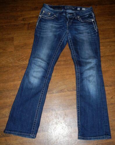 Authentic Miss Me Slim Fit Low Boot Cut Women/'s Blue Jeans Sz 26X28 26x31 26x32