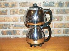 Vintage Sunbeam C30 Coffeemaster Art Deco Double Bubble Coffee Pot~Parts/Repair