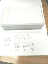 Electronics Plastic Project Chassis Box Enclosure Case 55x27x15 Free Shipping