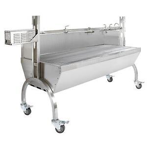 Hog Roast Spit BBQ Pig Roaster Machine Catering Rotisserie Roasting Motor 90kg 5055986101192