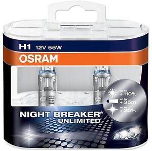 osram night breaker plus unlimited car bulbs h1 h3 h4 h7. Black Bedroom Furniture Sets. Home Design Ideas