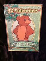 Vintage 1999 Maurice Sendak Little Bear Sealed Box Of 32 Valentines