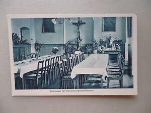 Ansichtskarte-Haushaltungsschule-Kloster-Siessen-Saulgau-1928-Speisesaal