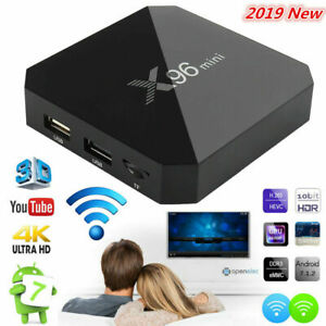 Details about X96 Mini Android Smart TV BOX 2GB+16GB WIFI S905W Quad-Core  4K TV Media Streamer