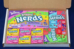 Image Is Loading Wonka Nerds American Candy Gift Box Birthday Present