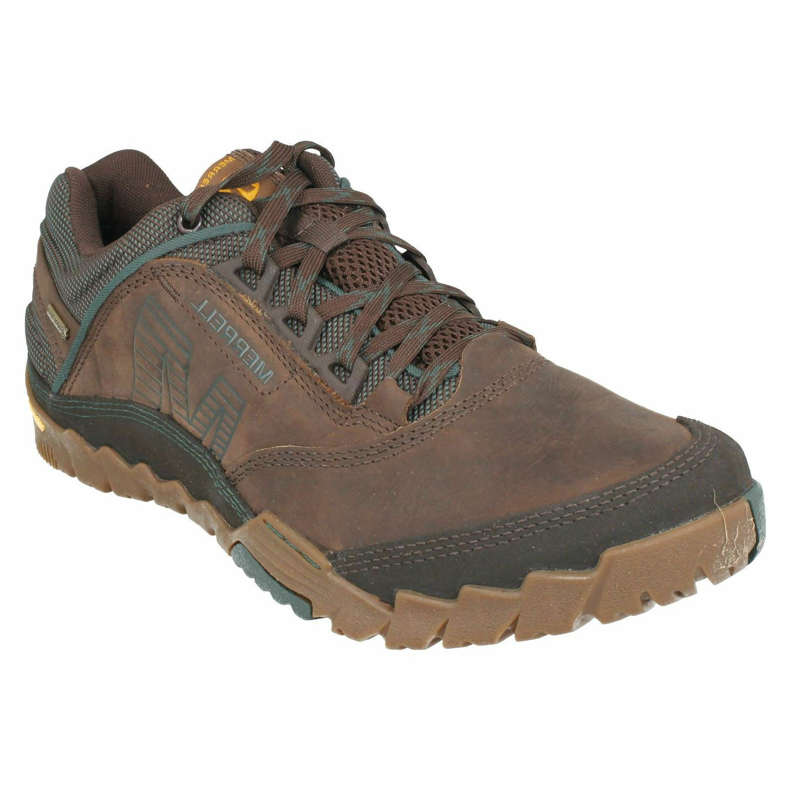 MERRELL Herren ANNEX GTX J32191  Herren MERRELL LACE UP LEATHER WATERPROOF GORE-TEX TRAINERS Schuhe d50ec0
