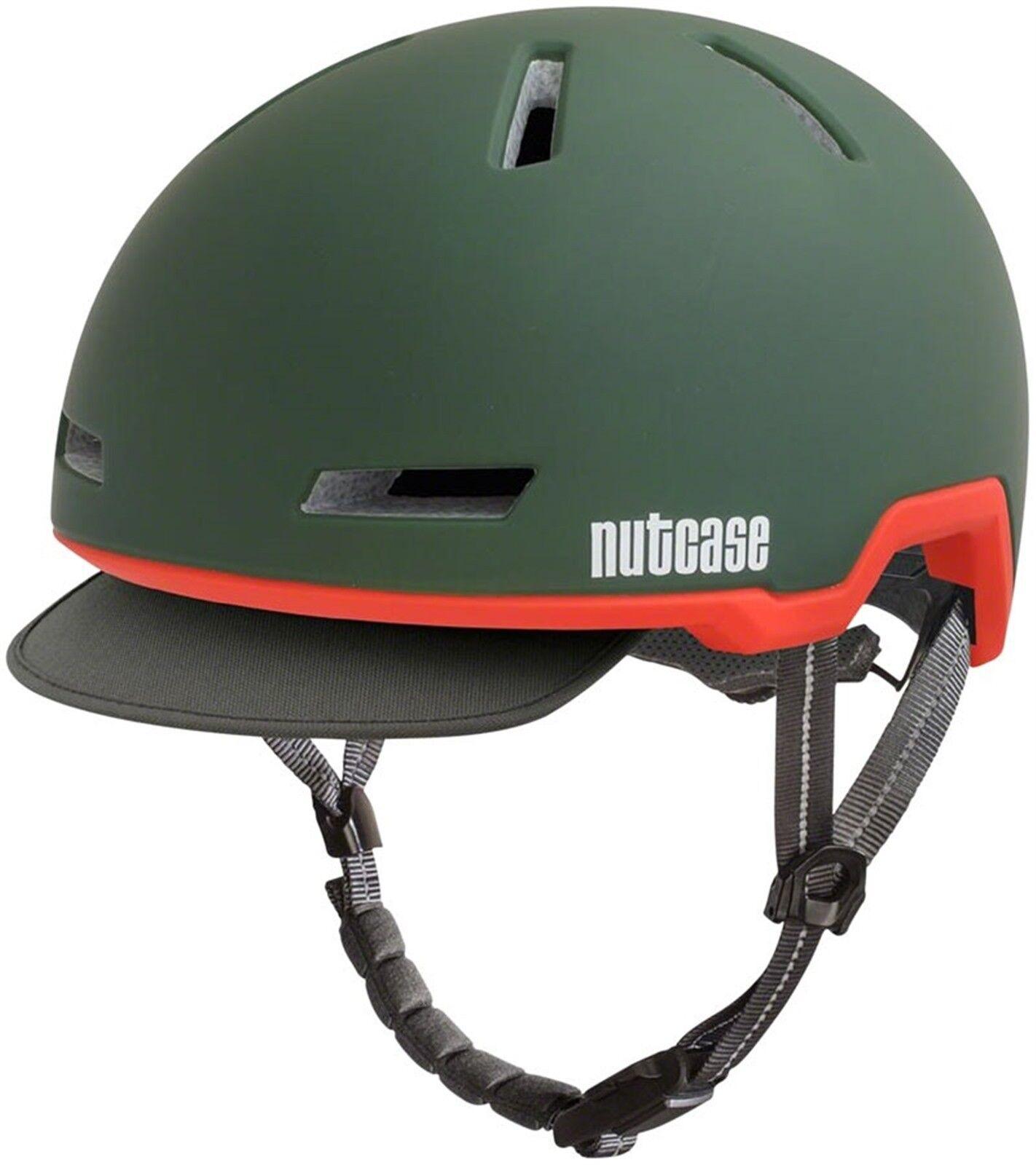 Nutcase Tracer Helmet  Cascade verde Matte MDLG