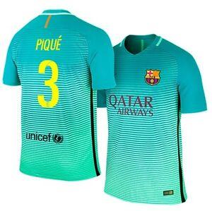 86c155f3ce2a42 Das Bild wird geladen Trikot-Nike-FC-Barcelona-2016-2017-Third-Pique-