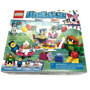 LEGO Unikitty Party Time Set 41453 - 214 pcs Hawkodile Master Frown NEW SEALED