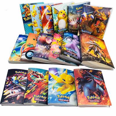 240Pcs Pokemon Cards Album Book List Collectors Folder Pocket Capacity Holder