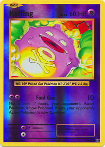Uncommon Pokemon XY Evolutions M//NM English x4 Koffing 50//108
