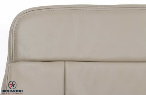 Driver Bottom LEATHER Seat Cover Tan 05-08 Ford F150 Lariat FX4 SuperCrew 4X4