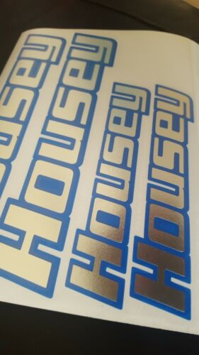 HELMET+MOTORCYCLE YOUR NAME STICKERS DECALS 2 COLOUR BORDER TRACK ROAD R125 MX1