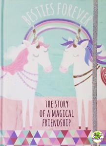 unicorn besties forever journal gift memory book birthday present