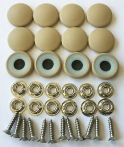 25 Dura Snap Upholstery Buttons Parchment Tan Choice Of Size And