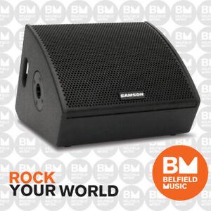 Samson-RSXM10A-600w-1-x-10-034-Active-Monitor-Speaker-RSX-M10A-BNIB-BM