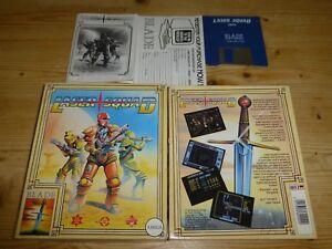 100% De Qualité Laser Squad Commodore Amiga (testé)-afficher Le Titre D'origine