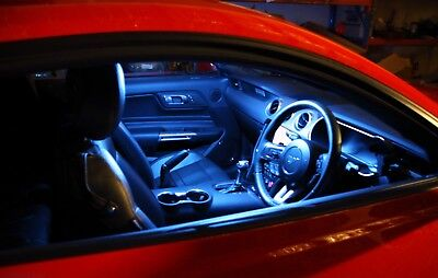 Bright Purple LED Interior Light Upgrade Kit for Ford FM FN Mustang 8 Pieces