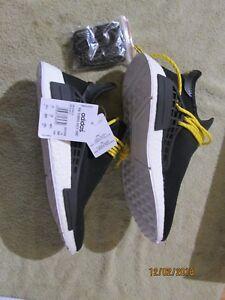 502681bae Adidas X Pharrell Williams NMD HU Human Race Black White