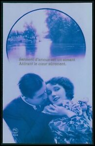 Details About D Love Couple Romance Fantasy Art Deco Pop Old 1920s Photo Postcard Lot Set Of 5