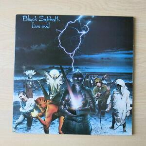 BLACK-SABBATH-Live-Evil-UK-1st-press-double-vinyl-LP-A1-B1-C1-D1-Nr-Mint