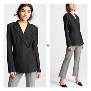NWT Bailey 44 Striped Ponte Jackpot Jacket Blazer Revolve Women's XS $378