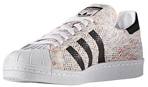 wholesale dealer beaf5 6e37d Mens adidas Superstar 80s Primeknit Multi Color White Black S75845 US 13  for sale online  eBay
