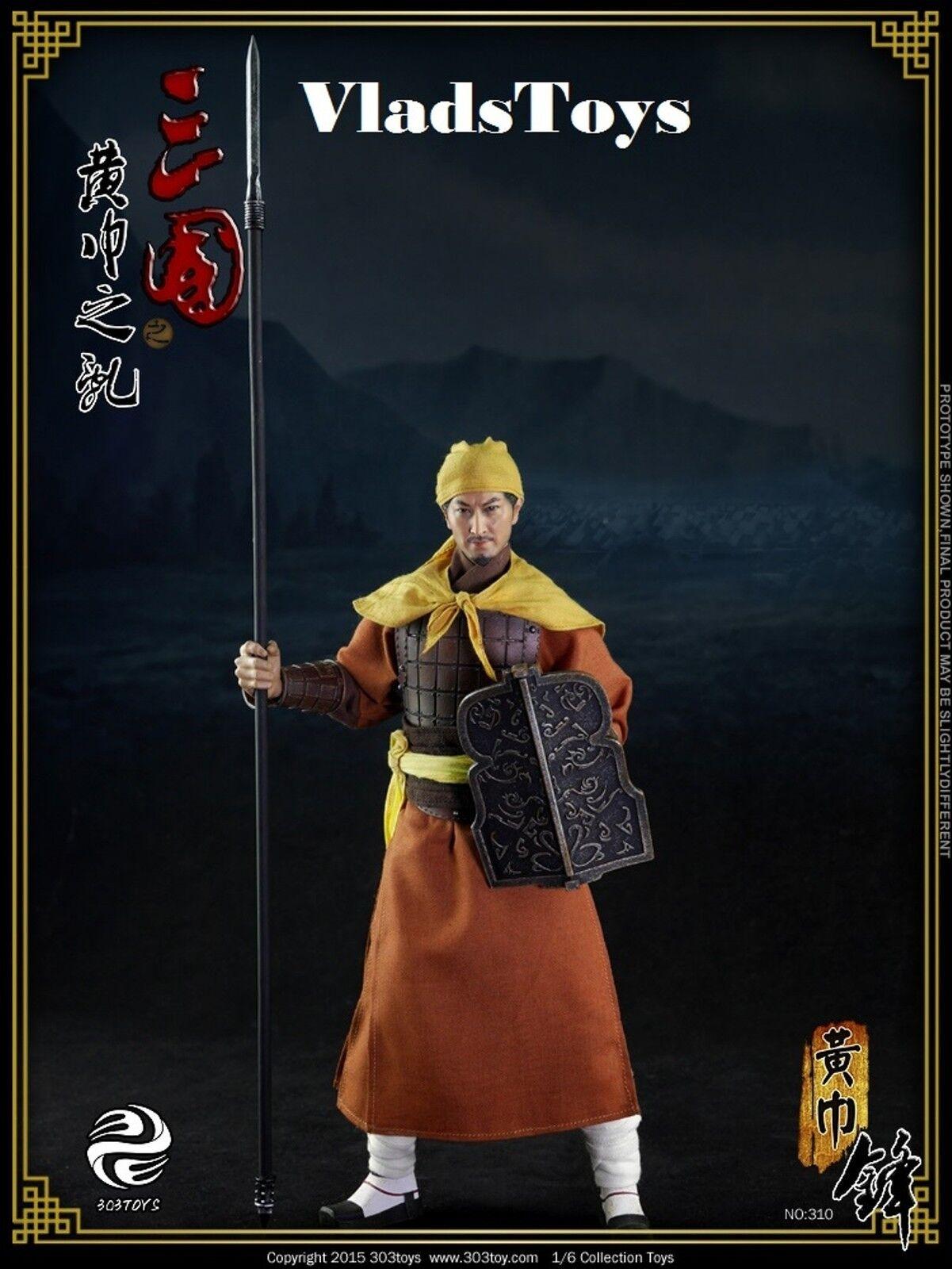 303TOYS 1 6 Three Kingdoms Yellow Turban Rebellion Spear USA Dealer