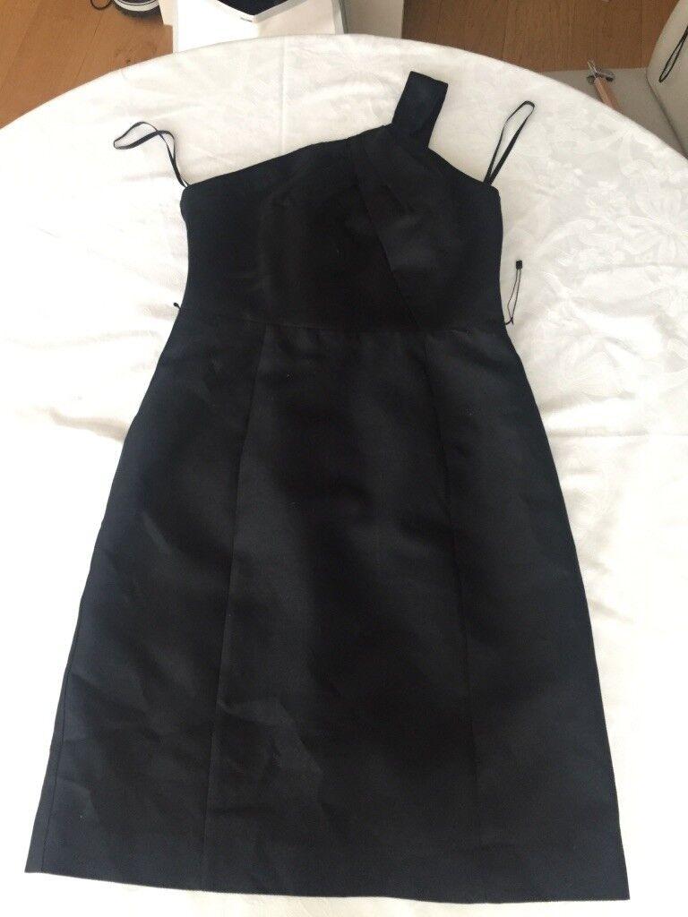 BNWOT MILLY ONE SHOULDER DRESS WITH lila LINING Größe US 10