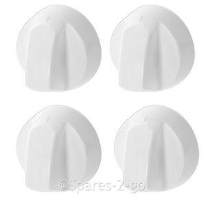 4 X Pour Four Et Cuisinière Hotpoint Blanc Bouton De Commutateur De Plaque Complet + Kit Adaptateur-afficher Le Titre D'origine CaractéRistiques Exceptionnelles