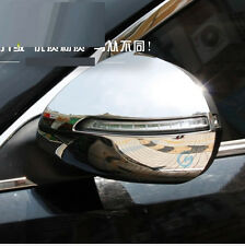 FIT FOR 2011~ KIA SPORTAGE DOOR SIDE WING MIRROR CHROME COVER REAR VIEW CAP TRIM