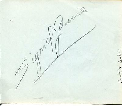 "Realistic Sigrid Gurie Actress & Dick Powell ""susan Slept Here"" Actor Signed Autograph Cards & Papers Movies"