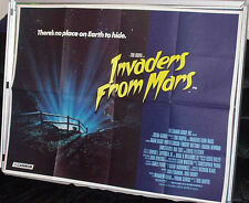 Cinema Poster: INVADERS FROM MARS 1986 (Quad) Tobe Hooper