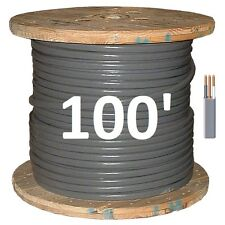 10/2 UF (100') (Underground Feeder) Direct Burial Copper Conductors 3 Wire/Cable