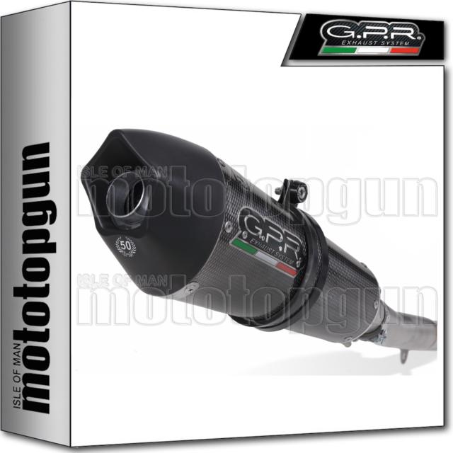 GPR EXHAUST HOM GPE ANNIVERSARY POPPY MOTO GUZZI GRISO 1200 8V 2011 11 2012 12