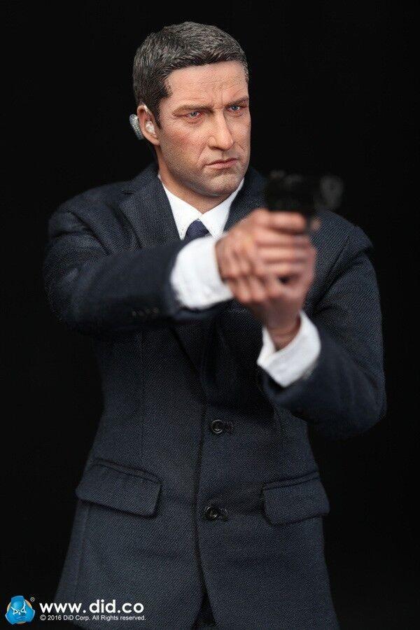DID 1 6 Scale US Secret Service Special Agent Mark Set Olympus Has Fallen