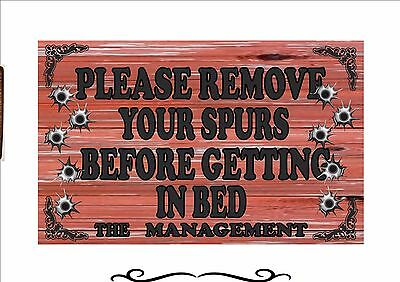 Saloon Sign Wild West Cowboy Saloon Bar Vintage Style Retro Metal Sign Pub Sign