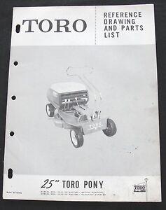 toro pony manual
