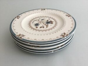 Royal-Doulton-OLD-COLONY-TC1005-6-5-8-034-Side-Bread-amp-Butter-Tea-Plates-X-7