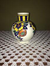 Charles Catteau Boch Belgium Art Deco Freres La Louviere Vase c.1920's