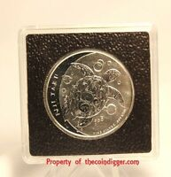 Fiji 1/2oz Silver Taku 2x2 Coin Holder 32mm Quadrum Intercept Snaplock & Stand