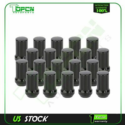 Lug Nuts Factory Fit Black 20 Pieces 14x1.5 Fits Jeep Grand Cherokee 2011 and Up