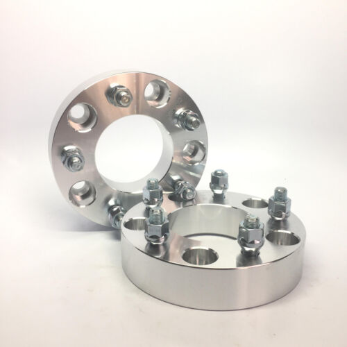 """1.5 Inch Wheel Adapters 5x5.5 to 5x135 5x139.7 to 5x1351//2/"""" Stud 2pc 38mm"""