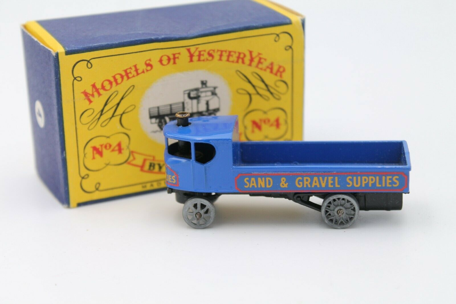 Matchbox moy  y-4  Sentinel Steam Wagon  embalaje original  original 1959