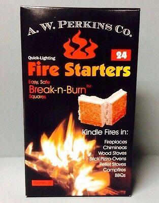 AW 24 Wood Stove Coal Fire Starter For KAMADO JOE BBQ smoker Grilling Food Safe