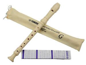 Yamaha YRS-23Y Soprano Recorder, Key of C Yamaha Band and Orchestra