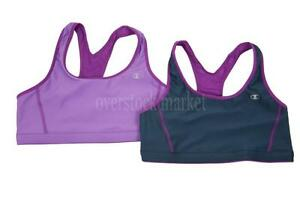 6341ccc8437ec Details about NEW WOMENS CHAMPION DOUBLE DRY SEAMLESS SPORTS BRA REVERSIBLE  TO MESH VARIETY!
