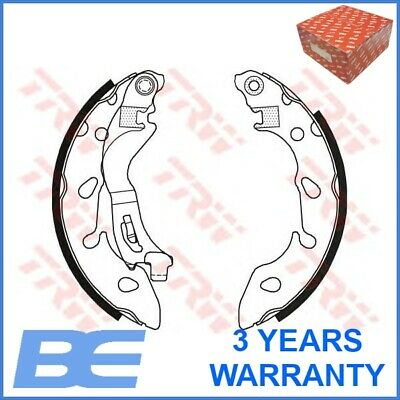 Brake Shoes fits FIAT PANDA 169 1.3D 2010 on With ABS Set TRW 77365795 77366214